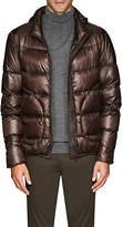Herno Men's Denier Down Hooded Jacket