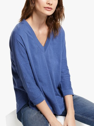 And/Or AND/OR Slouchy V-Neck T-Shirt