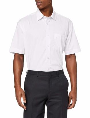 Kustom Kit Men's Short Sleeve Classic Fit Business Shirt