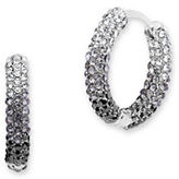 Jenny Packham Swarovski Crystal Hoop Earrings