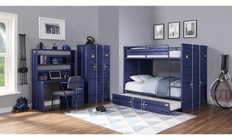Zoomie Kids Otero Double Door Armoire Color: Blue