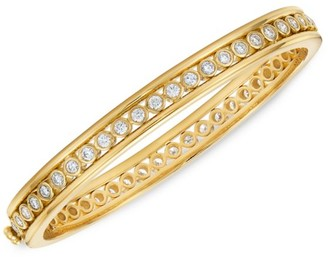 Temple St. Clair Eternity 18K Yellow Gold & Diamond Bracelet