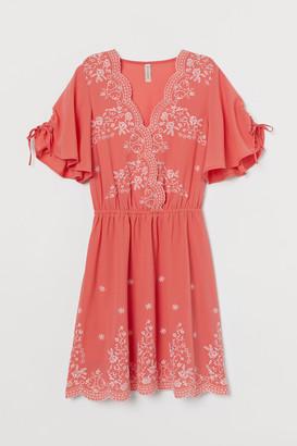 H&M Embroide dress
