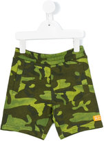 Diesel camouflage shorts - kids - Cotton/Polyester - 2 yrs