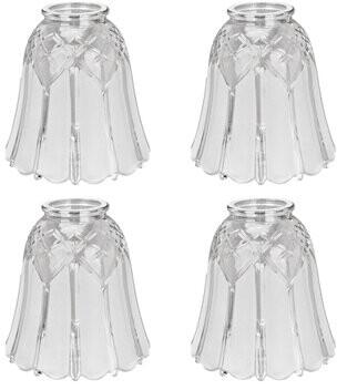 """Astoria Grand 5"""" Glass Bell Ceilling Fan Fitter Shade Astoria Grand"""