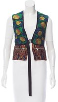 Dries Van Noten Jacquard Vest w/ Tags