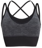 Zella Women's Layered Longline Sports Bra