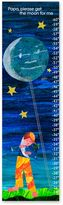 Eric Carle Hand-Stretched Moon & Stars Growth Chart