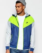 Nike Windbreaker In Blue 727324-423
