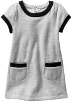 Gap Contrast French terry pocket dress