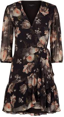 AllSaints Jade Eden Floral Dress