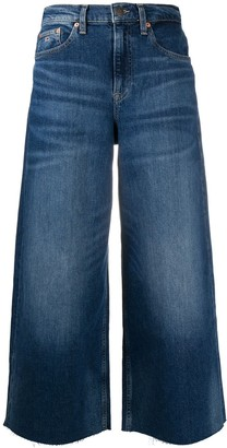 Tommy Jeans Cropped Wide Leg Jeans