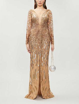 ZUHAIR MURAD Salamanca embellished gown