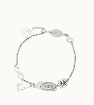Tod's Rat Cheese Chain Bracelet