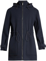 Raey Zip-through wool duffle coat