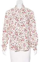 Sonia Rykiel Printed Button-Up Top