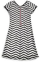 Sally Miller Girl's Knit Chevron Dress