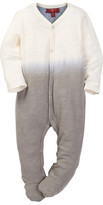 7 For All Mankind V-Neck Footie (Baby Boys)