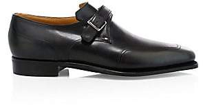 Corthay Men's Verneuil Monk Strap Leather Dress Shoes