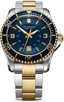Victorinox Two Tone Watch, 43mm