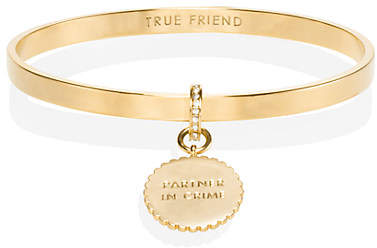 Kate Spade Say yes scalloped partners in crime bangle