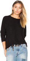 Nation Ltd. Hacci Raglan Sweatshirt in Black. - size XS (also in )