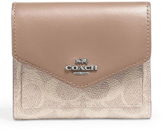 Coach Signature Canvas Wallet
