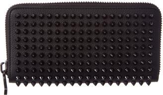 Christian Louboutin Panettone Leather Zip-Around Wallet