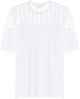 Maison Margiela Cut-out cotton T-shirt