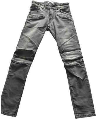 Balmain Grey Denim - Jeans Jeans for Women Vintage