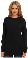 Brigitte Bailey Modal Quilted Pullover Sweater