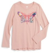 Tea Collection Jun Butterfly Graphic Tee (Toddler Girls, Little Girls & Big Girls)