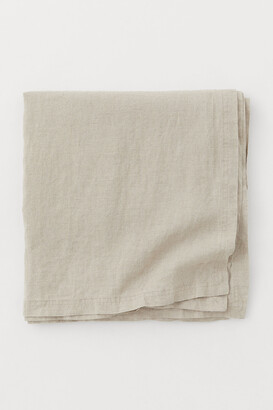 H&M Washed linen tablecloth