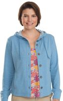 Woolrich Women's Uptown Hooded French Terry Jacket