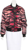 McQ by Alexander McQueen Printed Bomber Jacket