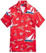 Polo Ralph Lauren Custom-Fit Sailboat Camp Shirt