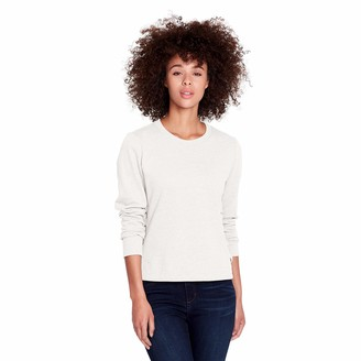 Skinny Girl Skinnygirl Women's Shannon Flat Shoelaced Sides Long Sleeve Knit Pullover
