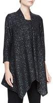 Caroline Rose Starry Night Knit Cascade Jacket, Petite