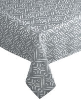 Distinctly Home Block Tablecloth 60 x 84