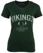 Royce Apparel Inc Women's Cleveland State Vikings Vintage Arch T-Shirt