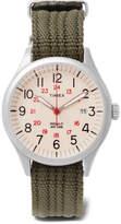 Timex - Waterbury United Stainless Steel And Nylon-webbing Watch