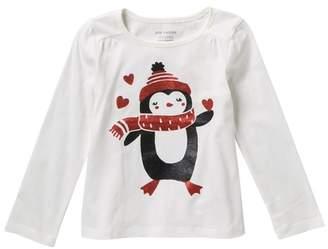 Joe Fresh Long Sleeve T-Shirt (Toddler & Little Girls)