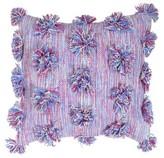 "Boho Boutique Purple Cosmic Throw Pillow (16""x16"")"
