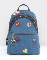 Tommy Hilfiger Gigi Hadid Denim Patch Backpack