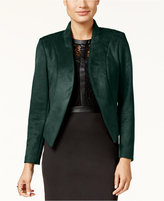 Thalia Sodi Stand-Collar Faux-Suede Blazer, Only at Macy's