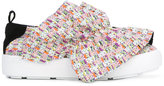 MSGM ruffle trim sneakers