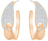 Swarovski Guardian Pave Hoop Earrings