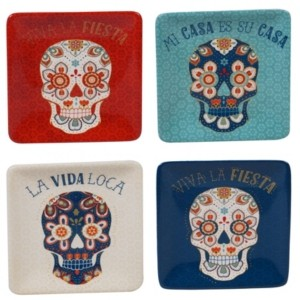 Certified International La Vida 4-Pc. Canape Plate