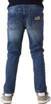 Leo&Lily Big Boys' Kids' Husky Rib Waist Stretch Denim Jeans Pants