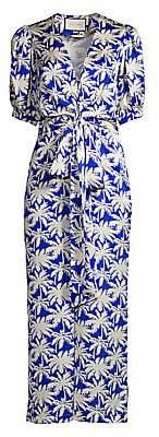 Alexis Women's Avari Palm Tree Print Jumpsuit
